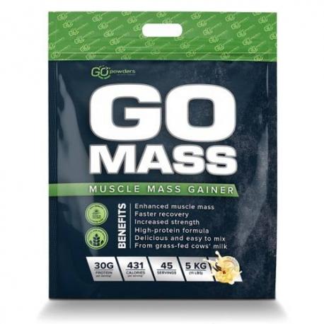 GO MASS Muscle Mass Gainer 5000 g