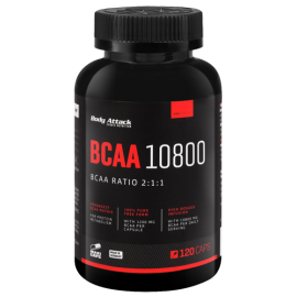 Body Attack BCAA 10800 (300Kaps)