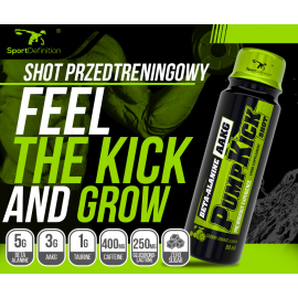 Sport Definition Pump Kick Shot 80ml