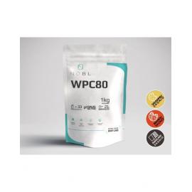 WPC 80 pieno išrūgų baltymų koncentratas (WHEY PROTEIN) 1 kg