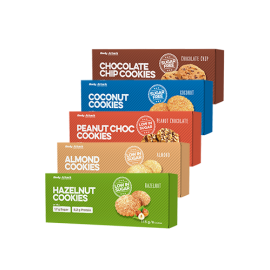 Body Attack Low Sugar Cookies 115g