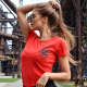 gymbeam moteriški marškinėliai