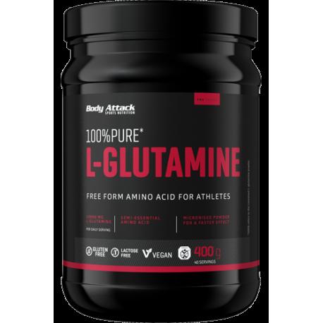 Body Attack 100% pure L-Glutamine 400g