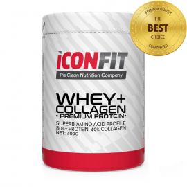 ICONFIT WHEY+ Collagen Premium Protein 400g