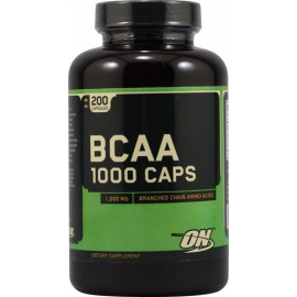 Optimum Nutrition BCAA 1000 200 kapsulių