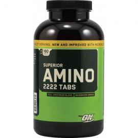 Optimum nutrition Amino 2222 - 80 porcijų (160 tab.)