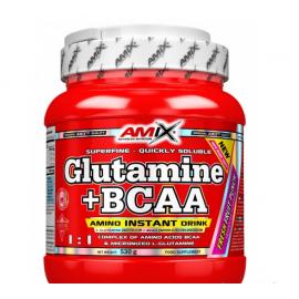 Amix Glutamine + BCAA powder 530g