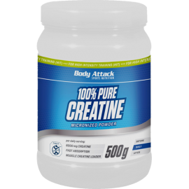 Body Attack 100% pure creatine 500g