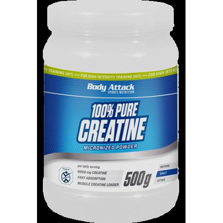 Body Attack 100% pure creatine 500g