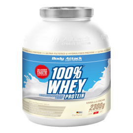 Body Attack Whey protein 2300g