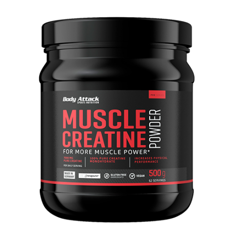 Body Attack Muslce creatine creapure (500g.)