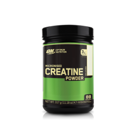Optimum nutrition micronised creatine powdre 317g