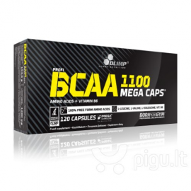 Olimp BCAA 1100 mega caps (120kaps.)
