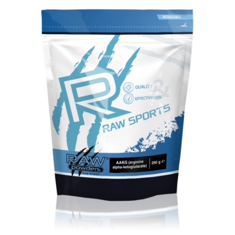 Raw Powders AAKG 250 g - 83 porcijos