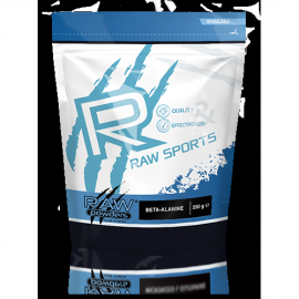 Raw Powders Beta Alanine 250 g - 62 porcijos