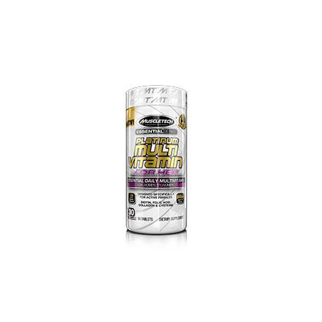 Muscletech platinum series multi vitamin for her 90tabl.