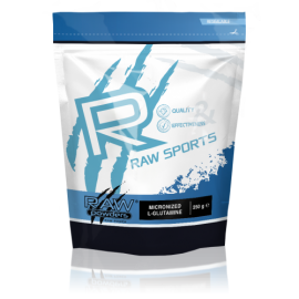 Raw Powders Micronized L-Glutamine 250 g