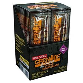 Grenade 50 Calibre Pre-Workout shot 23.2g