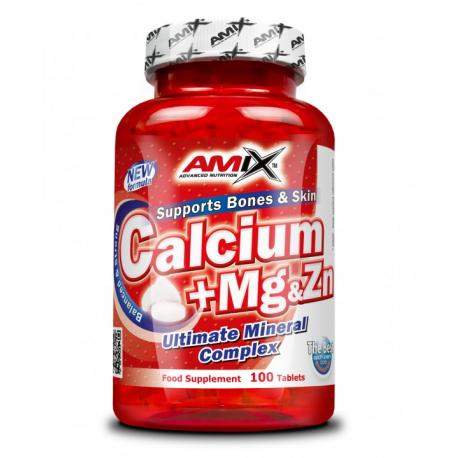 Amix Calcium + Mg & Zn 100 tab