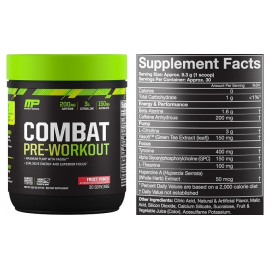 MP Combat pre-workout 279g