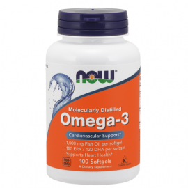 NOW Omega-3 (100 kaps.)