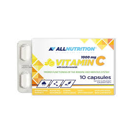 Allnutrition vitamin C with bioflavonoids 10kaps.