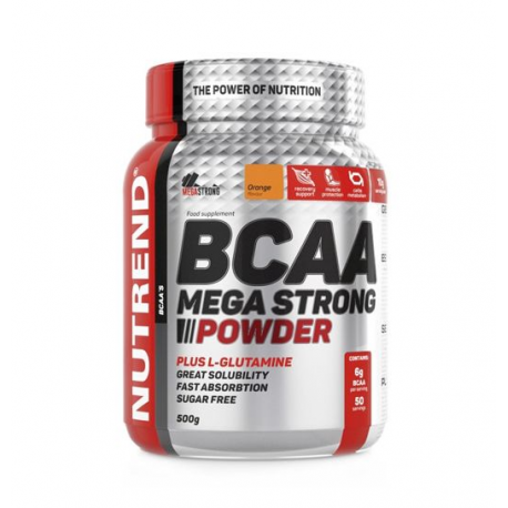 500gNutrend BCAA mega strong powder ratio 4:1: