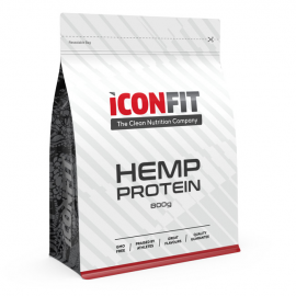 ICONFIT Hemp Protein (Kanapių baltymai, 800 g)