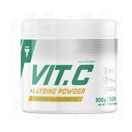 TREC VITAMIN C + L- LYSINE POWDER 300 G.