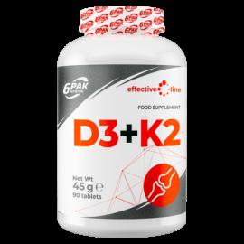 6pack D3+K2 90tabl.
