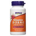 Now vitamin D3 & K2 120KAPS.
