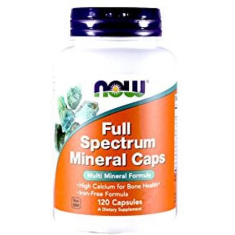 Now full spectrum mineral caps 120kaps