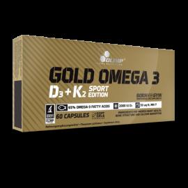 Olimp Nutrition Gold Omega 3 D3+K2 Sport Edition 60kaps.