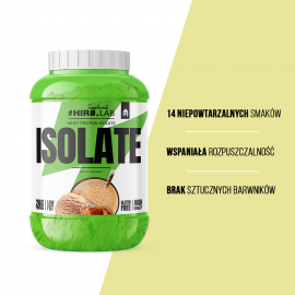 HIRO.LAB WHEY PROTEIN ISOLATE 1800G.