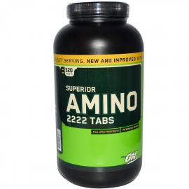 Optimum Amino 2222 - 80 porcijų (160 tab.)