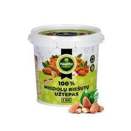 Healthy Choice migdolų riešutų sviestas 1000 g